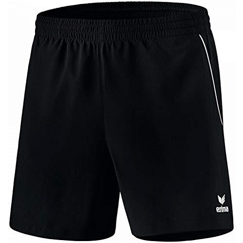 erima Herren Shorts Tischtennis, schwarz/weiß, S, 1090703