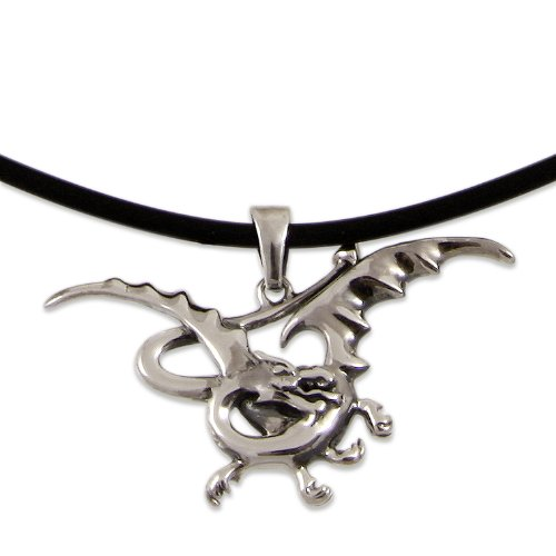 The Hobbit Jewelry Unisex-Halskette 925 Sterling Silber Smaug 19009989