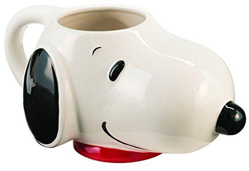 Peanuts Snoopy - Taza de cerámica esculpida