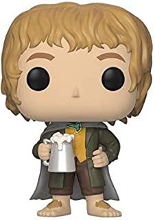 Funko POP! Movies: Lord of The Rings - Merry Brandybuck Collectible Figure,Natural