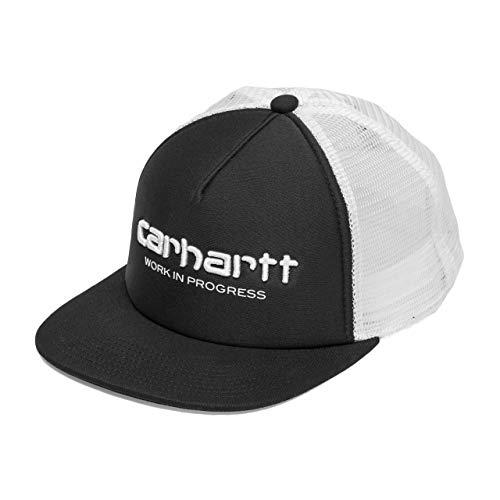 Carhartt Unisex Backley Logo Cap Trucker Negro 7980