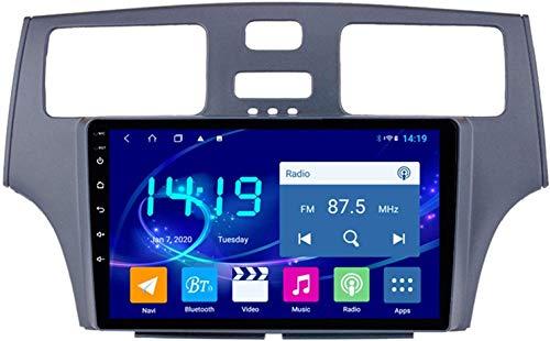 AEBDF Android 9.1 Navegación estéreo para automóvil para Lexus ES330 / 250/300,9 PULGO Sat Nav Pantalla táctil Bluetooth Player Multimedia con Enlace de Espejo,8Core WiFi+4G 4+64 DSP+Carplay