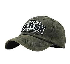 Sombrero de Moda de algodón Bordado Carta Gorra de béisbol Hombres ...