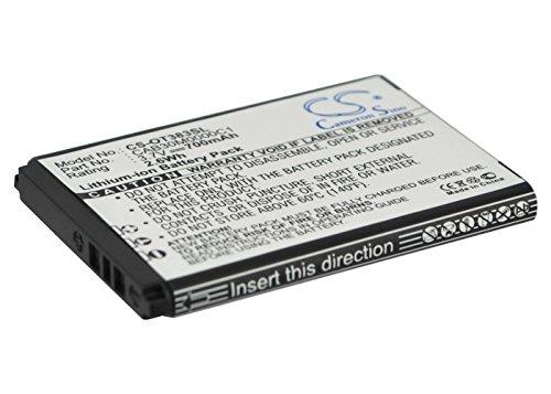 Batería Compatible con Alcatel One Touch S320, 3.7V, 700mAh, Li-Ion