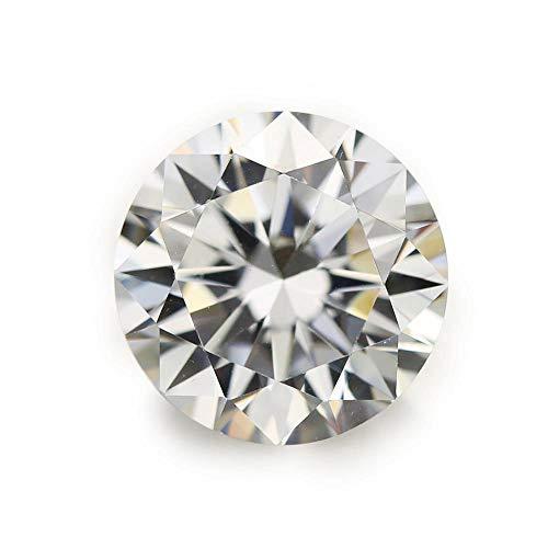 Ratnagarbha Cubic Zirconia Brilliant Cut Round Faceted Loose Gem Stone, 1.75 mm 1000 Piece, American Diamond, White Zircon, cz Stone, Jewelry Making, Wholesale Price.