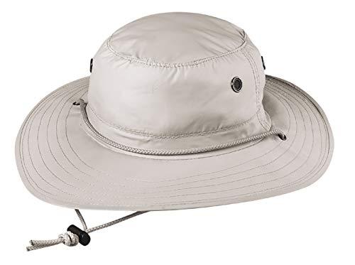 Broner Mens Askin Sun-Block Rafter UV Protection Hat, Putty, Large-XLarge