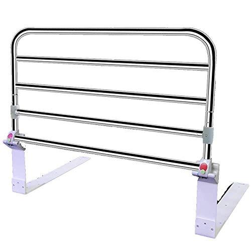 Bettgitter, Tragbare Bett Sicherungsschiene für ältere Personen, klappbare Bett Unterstützung Lenker, höhenverstellbar (größe : 60cm Length)