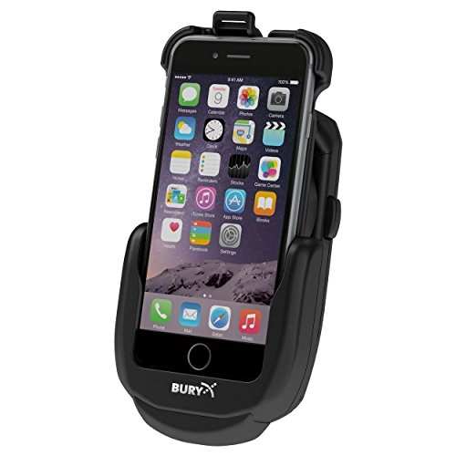 Bury S9 Base Car Active Holder Black - Holders (Mobile Phone/Smartphone, Car, Active Holder, Black, Apple iPhone 6/6S, Cigar Lighter)