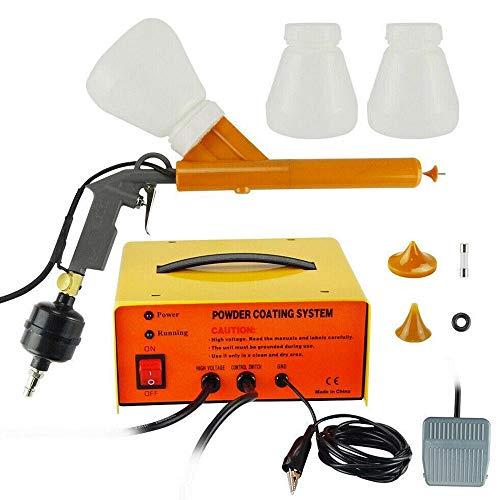Pulverbeschichtungsgerät Tragbar Pulverbeschichtung Pulverpistole Elektrostatische Pulverbeschichten Beschichtungssystem Set