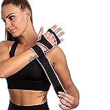 SINOVATI Fitness Handschuhe,Trainingshandschuhe,Gewichtheben Handschuhe für Bodybuilding, Crossfit,...