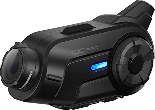 Sena 10C Pro sistema di comunicazione Bluetooth con camera integrata per moto
