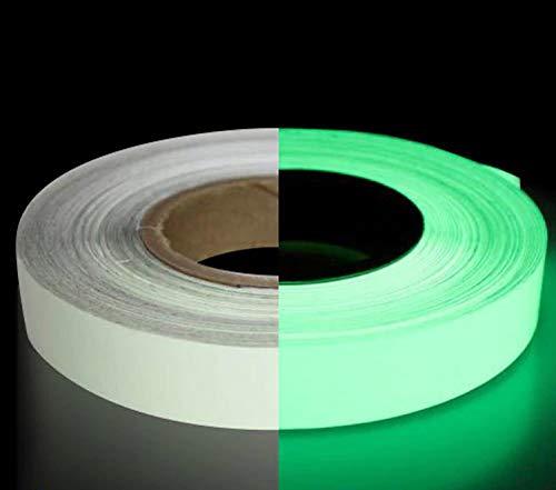 M. K. STICKERS Night Glow Tape 25 mm (10 ft)