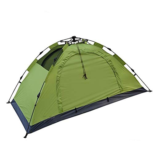 Edward Jackson Family Camping Tent Panoramic View Stable Steel Pole Construction Sewn-in Groundsheet Waterproof Tent for Camping