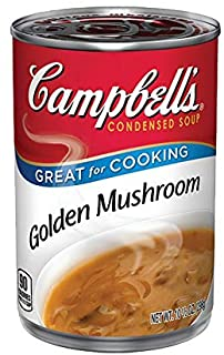 Campbell's, Condensed Golden Mushroom Soup, 10.75oz Can (Pack of 6)