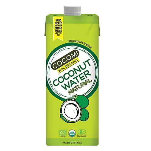 Agua de coco bio cocomi - Paquete de 12 x 1l - Total: 12 litros