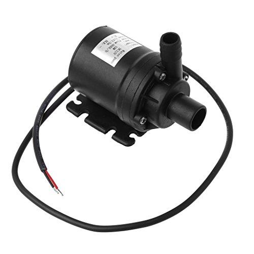 Bomba de agua sumergible LAOSI para circulación de agua de motor, sin escobillas, 800 l/h, 5 m, 12 V CC