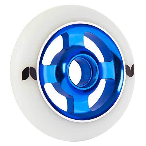 Blazer Scooter Wheel Stormer 4 Spoke Aluminium 100mm - Wit Blauw - One Size