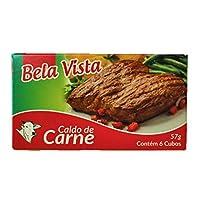 Caldo de Carne 57g (CONTEM 6 CUBOS) Bela Vista 乾燥スープの素 コンソメ