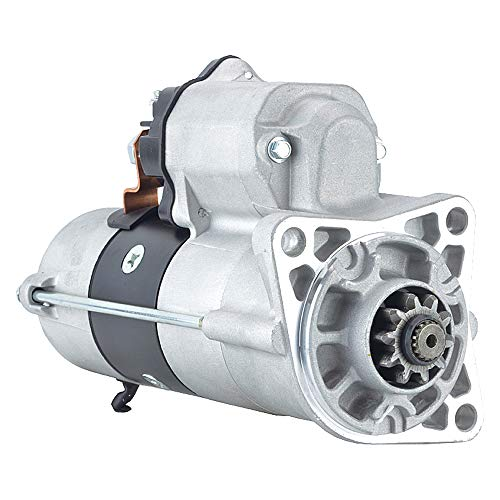 DB Electrical 410-52560 Construction Starter 432T/M3 Compatible With/Replacement For Case 420CT, 430, 435, 445, 445CT ND428000-9910 19856 190-6318 87638510 428000-6030 428000-9910 246-31110 87638510