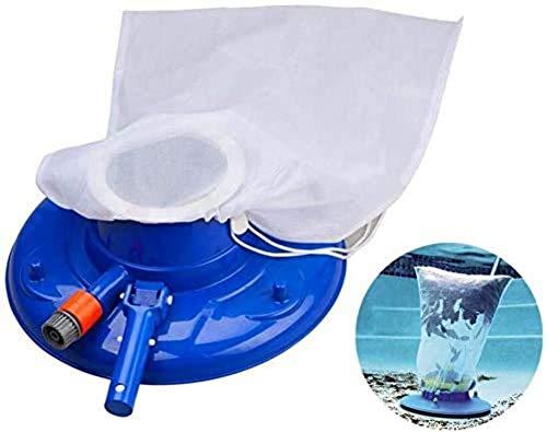 libelyef Schwimmbad-Blattstaubsauger, inkl. Bürsten, Schwenkräder, ultrafeiner Netzbeutel, schnelle Reinigung, Saugkopf für oberirdische oder eingelassene Schwimmbecken – sicher für Vinylpools