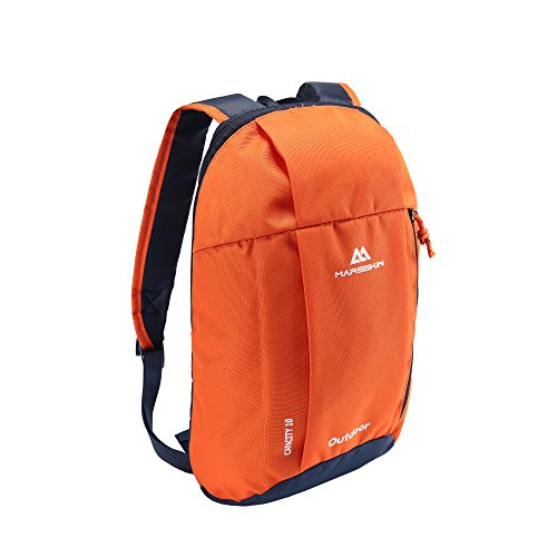 BROGEND 10L Hiking Daypack for Hiking and Travel Kids Backpack, Casual Backpack, Mini Backpack (Orange, 10L)