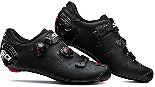 SIDI Zapatillas Ergo 5 Matt, Scape Ciclismo Hombre, Matte Black/Black, 44
