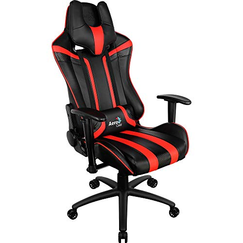 Not Machine Specific - Aerocool AC120BR Sedia Gaming Professionale Colorazione Black Red - Game of The Year