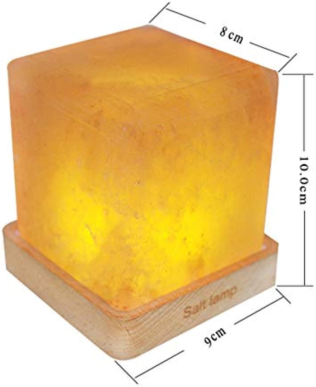 LIULINUIJ Led Nachtlicht Fernbedienung Himalayan Salz Lampe Luftreiniger Kristallsalz Nachtlampe Für Schreibtisch Nachttischl