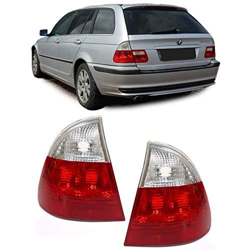 Carparts-Online GmbH 10056 Rückleuchten rot weiß klar