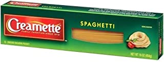 Creamette Enriched Regular Spaghetti Pasta 16 oz. (Pack of 2)
