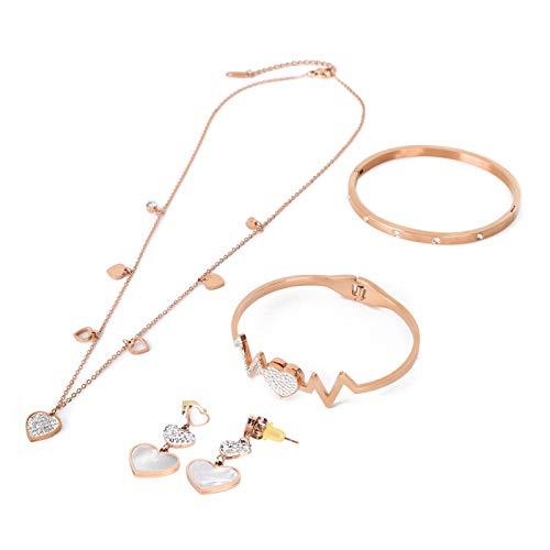 Pendientes de pulsera, hermoso conjunto de joyas duraderas, para mujeres, amigas