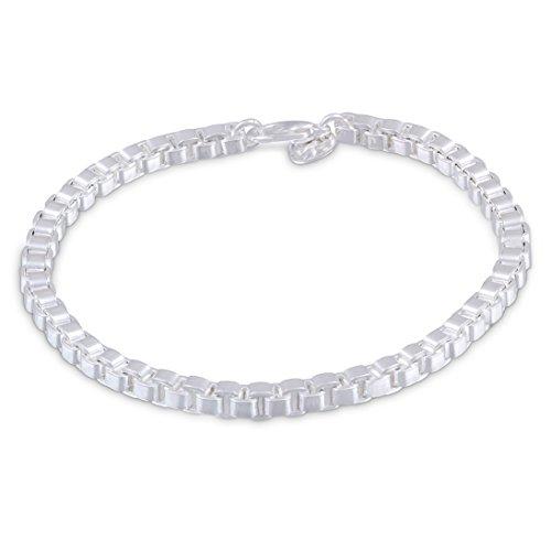 Juwelier Schönschmied - Unisex Armband aus Silber plattiert 4 IDs6-4 - Cherwell