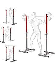 Soporte para sentadillas con peso ajustable para levantamiento de pesas en casa, equipo portátil para gimnasio de fitness, máquinas de entrenamiento para ejercicios