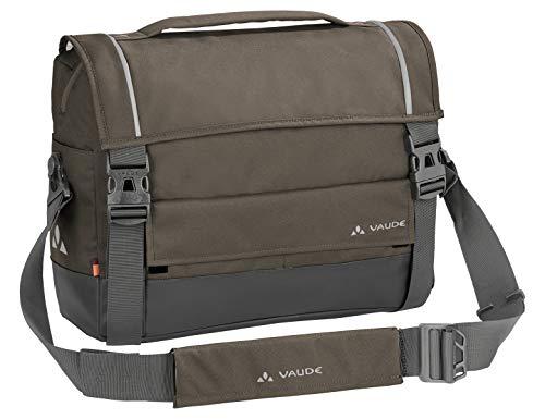 VAUDE Hinterradtaschen Cyclist Briefcase, Citytasche zum Radfahren, mit Laptopfach, coconut, one Size, 121815090