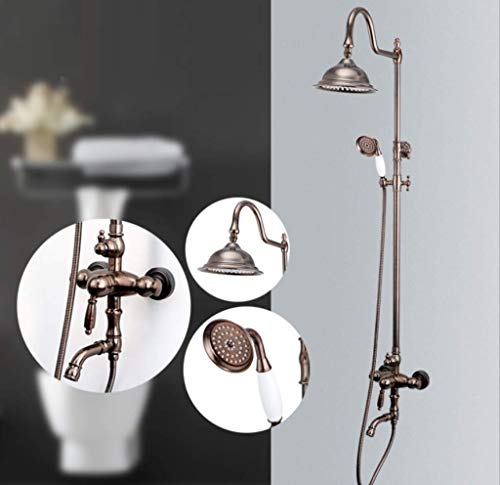 Fantastic Prices! XIAOQING Shower Set - Hand Shower Combination, Multifunctional Top Spray Shower, U...