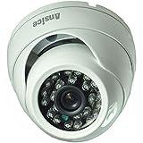 Ansice Cámara de seguridad domo 2.8mm 1000TVL CMOS con IR-CUT CCTV Vigilancia al aire libre IR día noche infrarrojos
