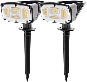 Espird 42 LEDs Solar Landscape Spotlights