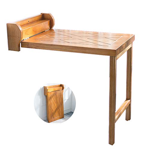 Feed Wandtisch Massivholz- Klappbarer Wand-Klapptisch Computer Schreibtisch ausklappen Kleine Wohnung multifunktionale klappbar gegen- wandmontierter Schreibtisch Raumteiler Esstisch