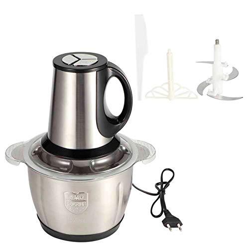 Tritacarne elettrico Tritacarne Tritatutto Robot da cucina Robot da cucina a 3 velocità con verdura, frutta e carne 3L 300W Spina UE 220V