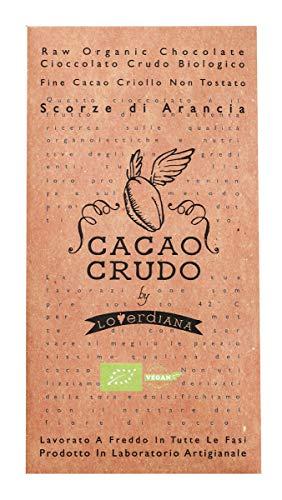 CACAO CRUDO 有機ローチョコレート オレンジピール 50g