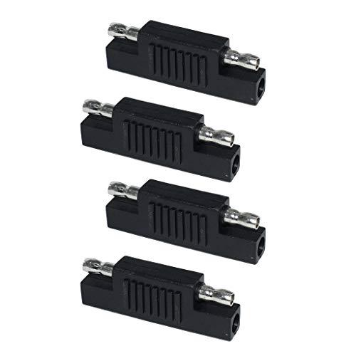 #N/A/a 4Pcs Solar SAE Polarity Reverse Adapter Connectors para Cable de Extensión