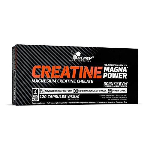 Olimp Sport Nutrition Creatine Magna Power, Creatina - 120 Cápsulas