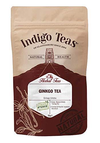 Indigo Herbs - Ginkgo Biloba Blätter Kräutertee - 50g