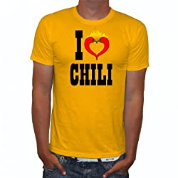 T-Shirt I Love Chilis