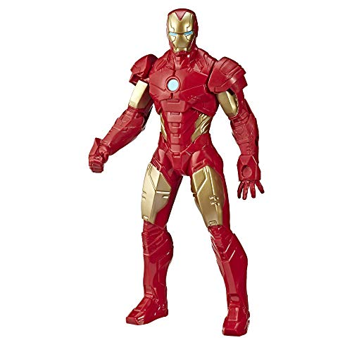 Hasbro Iron Man Personaggio Grande Marvel Avengers 25 CM E5582 Action Figure Super Eroe Eroi