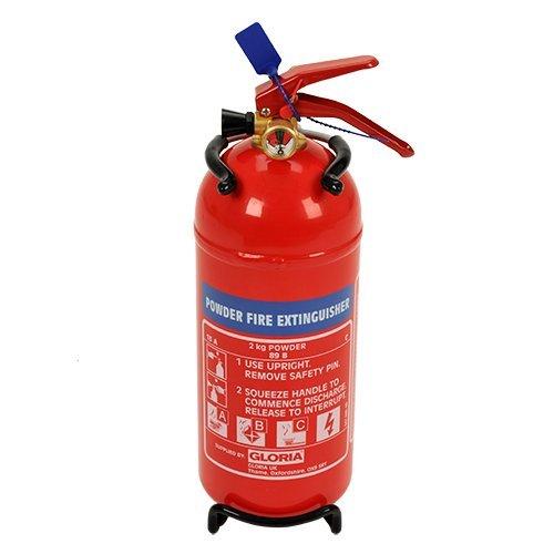 Extintor de polvo 6 kg | Eficacia 13A-89B | Gloria 2 kg extintor de polvo PD2 G