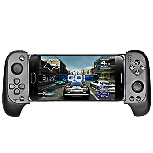 Bluetooth de Dispositivo de Juego, Gamepad Multimedia Controlador de Juego Joystick Compatible con Phone8 / XR/XS iOS/móvil Android Tablet