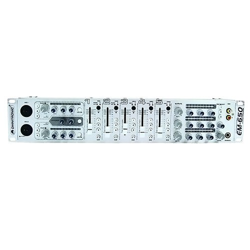 Omnitronic 10007110 EM-650 Entertainment-Mixer
