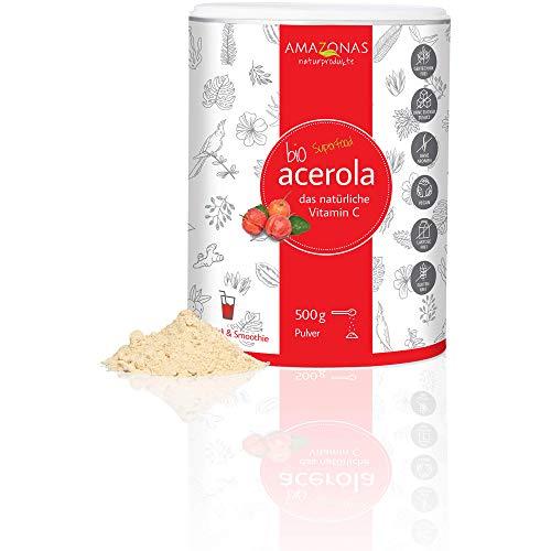 Amazonas Naturprodukte Bio Acerola Pulver (1 x 500 g)