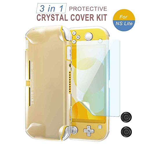 Kit 3 in 1 Capa Silicone Nintendo Switch Lite Película Grip [video game]